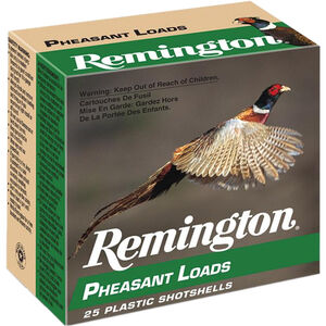 "Remington Pheasant Loads 20 Gauge Ammunition 2-3/4"" Shell #5 Lead Shot 1oz 1220fps"