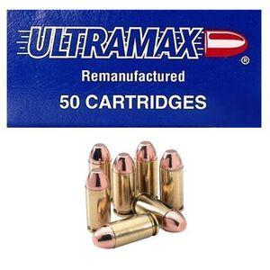 Ultramax .40 S&W 180 Grain FMJ 50 Round Box 930 fps