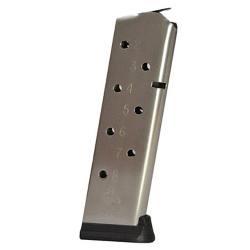 Colt 1911 Government/Commander Full Size 8 Round Magazine .45 ACP Stainless Steel Natural Finish