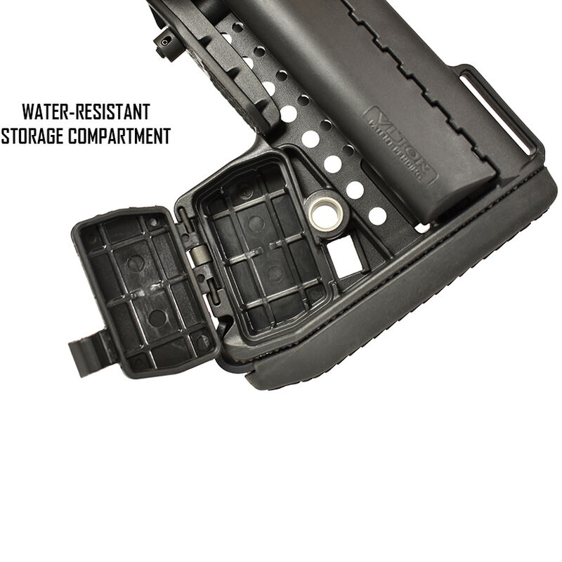 VLTOR EMOD Combo Kit Collapsible AR-15 Stock with Buffer Tube, Buffer, Spring and Hardware Black