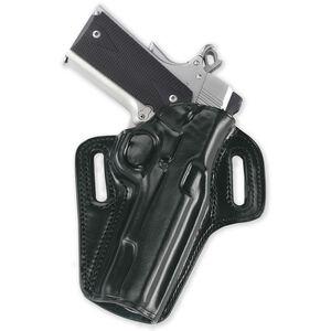 """Galco Concealable Belt Holster 1911 3"""" Right Hand Leather Black CON424B"""
