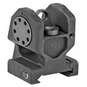 Midwest Industries AR-15 Combat Rifle Rear Fixed Sight Aluminum Black