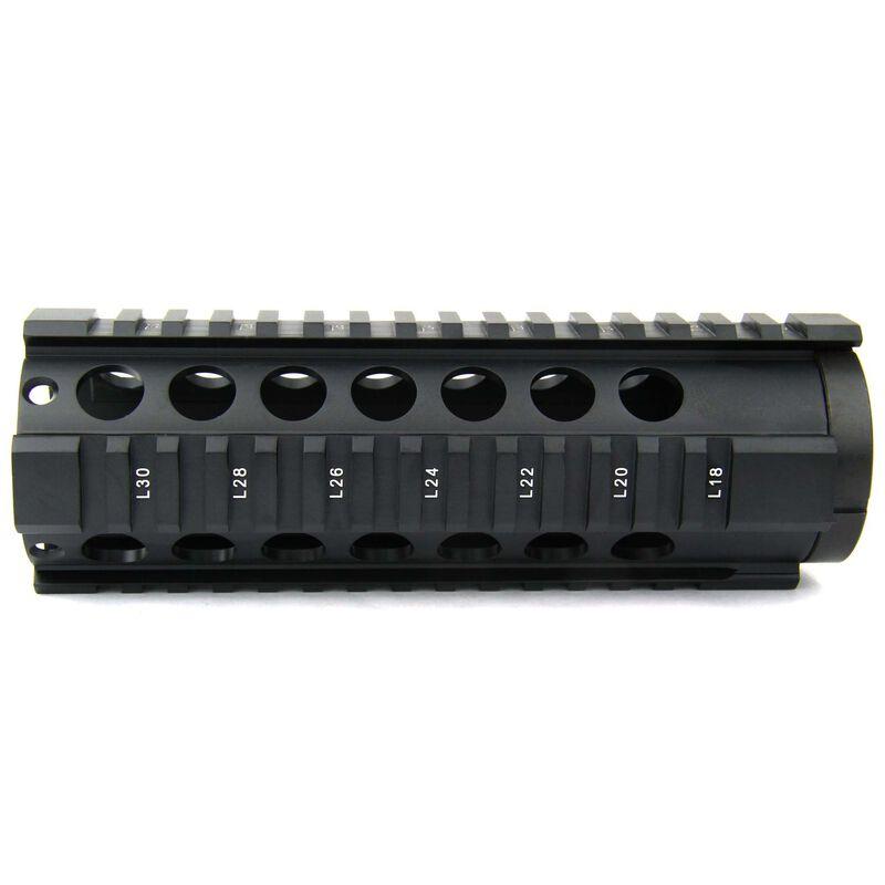 TacFire AR-15 Free Float Quad Rail Hand Guard 7