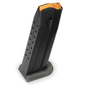 FN 509 Edge Magazine 9mm Luger 10 Rounds Gray Base Plate Steel Black