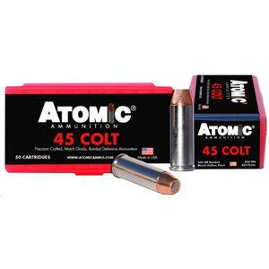 Atomic .45 Colt Ammunition 50 Rounds 250 Grain Bonded Match Hollow Point 900fps