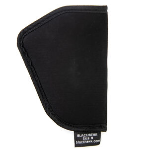BLACKHAWK! TecGrip IWB Holster Size 08 Ruger LCR and Similar Ambidextrous Nylon Black
