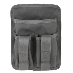 Maxpedition Entity Hook and Loop Utility Panel Gray Velcro Pen Holder CCW EDC