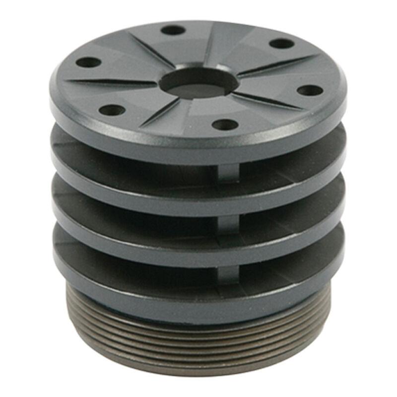 Silencerco Omega/Hybrid Anchor Brake .30 Caliber Aluminum/Stainless Steel Grey