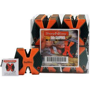 AccuSharp SharpNEasy Two Step Ceramic Knife Sharpener Blaze Orange 24 Pack 335CD