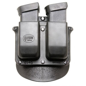 Fobus Double Mag Paddle Pouch For GLOCK .45 ACP Double Stack Polymer Black 6945GNDP