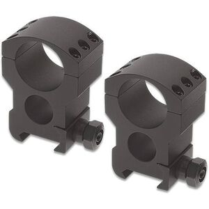 "Burris Xtreme Tactical Weaver/Picatinny Style Scope Rings 1"" Tube Diameter Extra High Height 1.50"" Aluminum Matte Black"