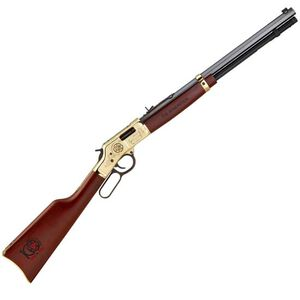"Henry Repeating Arms Big Boy Order of the Arrow Centennial Lever Action Rifle .44 Mag 20"" Octagonal Barrel 10 Rounds Engraved Brass Receiver Walnut Stock H006OA"