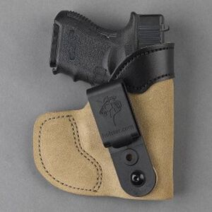 DeSantis Gunhide Pocket-Tuk Colt Mustang, SIG Sauer P238 Pocket/IWB Holster Right Hand Leather Natural 111NAP6Z0