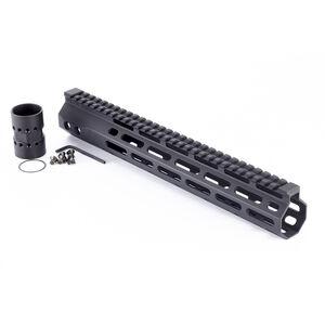 "Wilson Combat AR-15 12.6"" M-LOK Free Float Hand Guard Machined Aluminum Hard Coat Anodized Matte Black"