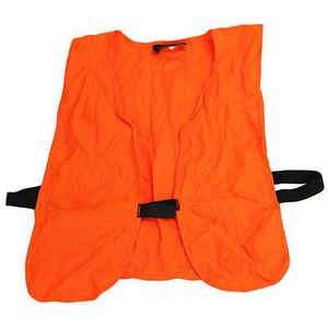 Frogg Toggs Hunters Safety Vest Lightweight Knit One Size Blaze Orange PV109