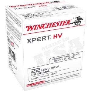 Winchester Xpert .22LR Ammunition 36 Grain Lead Hollow Point 1280 fps