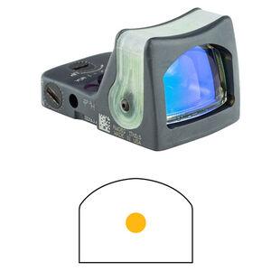 Trijicon RMR Reflex Sight Dual Illuminated Tritium/Fiber Optic 9 MOA Amber Dot Reticle Aluminum Sniper Gray RM05-C-700187
