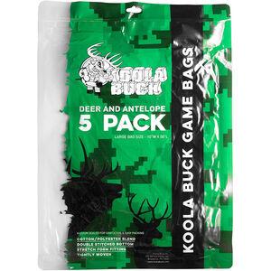 Koola Buck Large Deer and Antelope Game Bags 5pk