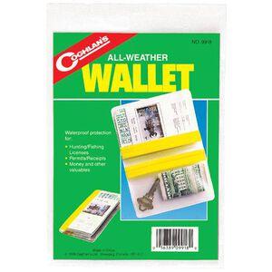Coghlan's Weatherproof Wallet PVC Clear 9918