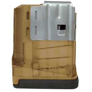 Lancer SR25/LM308 Magazine 308 Win/7.62 NATO 5 Rounds Polymer/Steel Flat Dark Earth