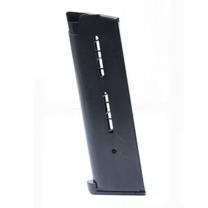 Wilson Combat 1911 Government/Commander Full Size 8 Round Magazine .45 ACP Lo-Profile Steel Base Pad Stainless Steel Black Finish