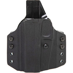 Uncle Mike's CCW Holster For Glock 17 OWB Right Hand Kydex Black