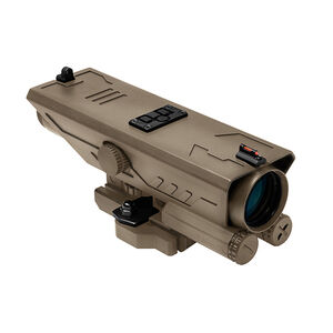 Nc Star Delta 4x30mm Riflescope  Sniper Reticle Tan