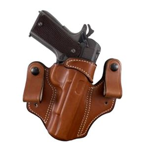 DeSantis Mad Max Tuckable IWB Holster 1911 Government Right Hand Leather Tan 112TA21Z0
