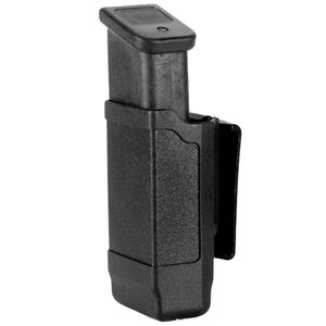 Blackhawk! Double Stack 9mm Luger and .40 S&W Single Magazine Case Polymer Black 410600PBK