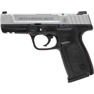 "Smith & Wesson SD9 VE 9mm Luger Semi Auto Pistol 4"" Barrel 16 Rounds Polymer Frame Two Tone Finish"
