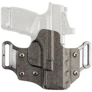 DeSantis Veiled Partner OWB Holster For Springfield Armory Hellcat Right Hand Optics Compatible Kydex Black
