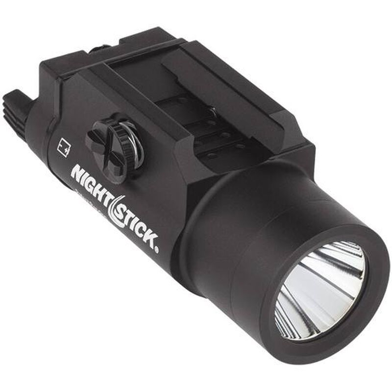 Nightstick Metal Weapon-Mounted Light With Strobe