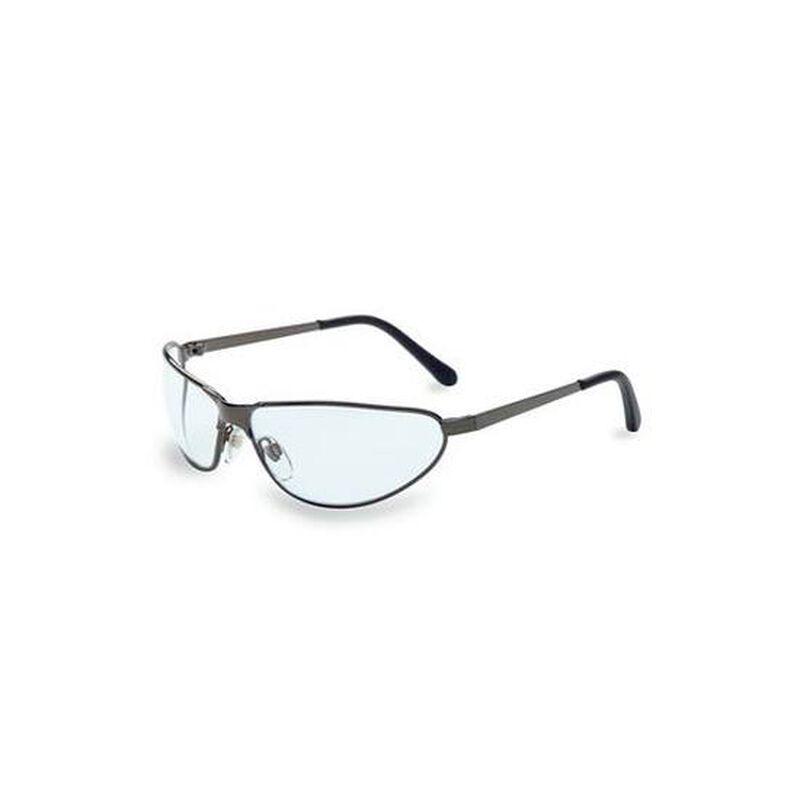 Uvex Tomcat Mirrored Safety Glasses Gunmetal Frame S2454