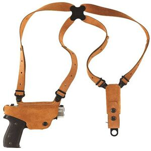 Galco Classic Lite Shoulder Holster System Beretta/Taurus Right Hand Draw Leather Natural Finish