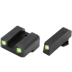 TRUGLO GLOCK 42/43 Sight Set Green Tritium