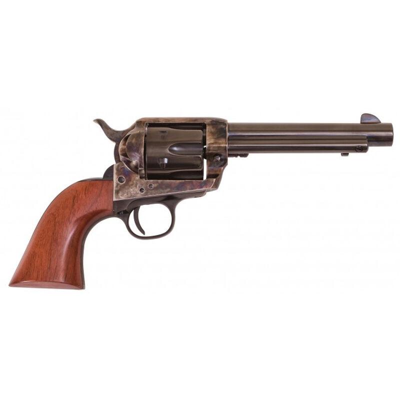 "Cimarron Frontier Single Action Revolver .45 Colt 5.5"" Barrel 6 Rounds Walnut Grips Blued"