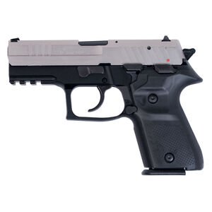 """AREX Rex Zero 1CP Compact Semi Auto Pistol 9mm Luger 3.85"""" Barrel Length 15 Rounds Fixed Sights Picatinny Rail Ambidextrous Safety/Magazine Release 2 Tone Finish"""