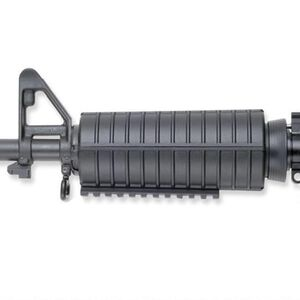 GG&G AR-15 Under Foregrip Integrated Rail Picatinny Aluminum Black GGG-1055