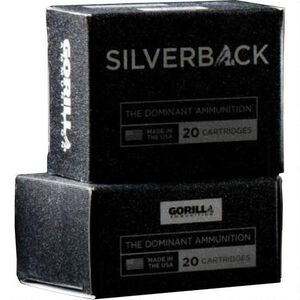 Gorilla Silverback 9mm Luger 115 Grain 1200 fps 20 Rounds