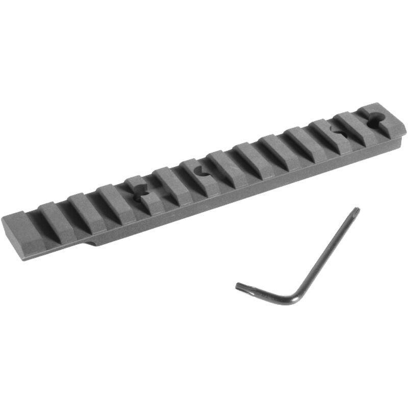 EGW HD Remington/Benelli/Weaver 93/Stoeger Ambidextrous Picatinny Rail Scope Mount 0 MOA Aluminum Matte Black