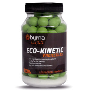 Byrna Eco-Kinetic Projectiles Water-Soluble Training Projectiles 95 Count
