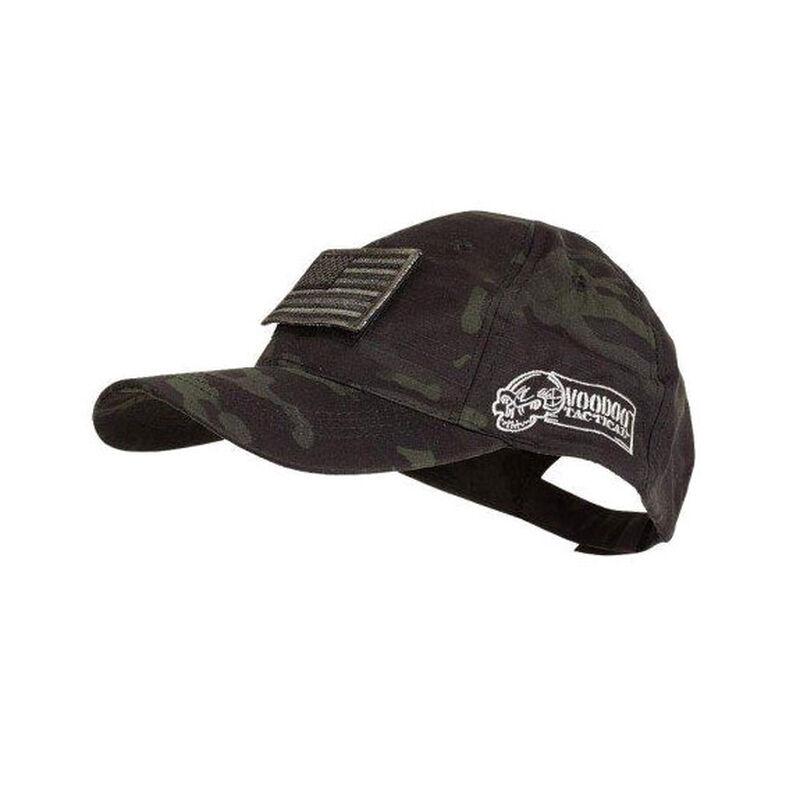 Voodoo Tactical Cap with Velcro Patch Black Multicam 20-9351072000
