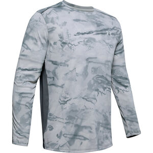 Under Armour Iso-Chill Shore Break Camo Men's Long Sleeve Crew T-Shirt