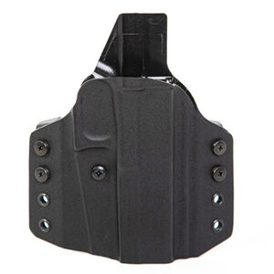 Uncle Mike's CCW OWB Holster Fits SCCY 9 Pistols Left Hand Draw Kydex Black