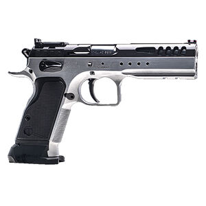 """IFG Tanfoglio Defiant Limited Master 9mm Luger Semi Auto Pistol 4.75"""" Barrel 17 Rounds Small Frame Adjustable Sights DuoTone Finish"""