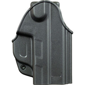UTS/PepperBall TCP Open Top Holster Right Hand Polymer Black