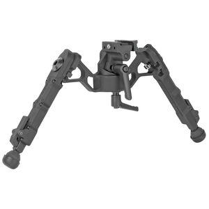 "Accu-Tac FC-G2 Bipod 5.25"" to 8.25"" Height Picatinny Mount Aluminum Flat Black"