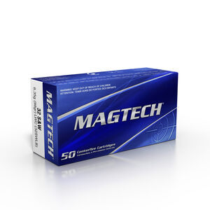 Magtech .32 S&W Long Ammunition 1000 Rounds LWC 98 Grains 32SWLB