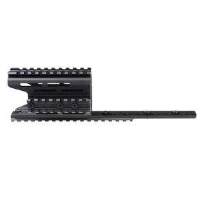 Strike Industries AK-47 TRAX 2 Modular KeyMod Handguard Rail Black SI-AK-TRAX2-BK