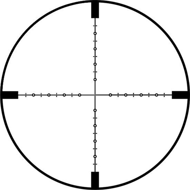 Weaver Tactical Rifle Scope 3-15x50 Illuminated EMDR Reticle First Focal Plane Reticle .1 MRAD Matte Black